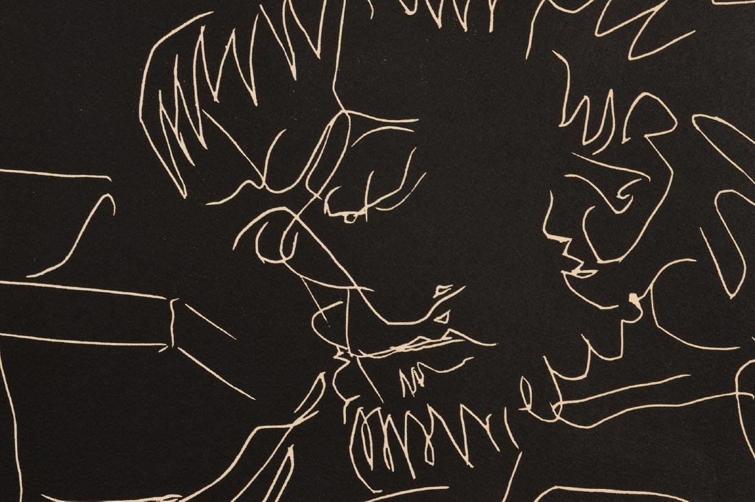 Pablo Picasso Linocut on Arches Paper - 8