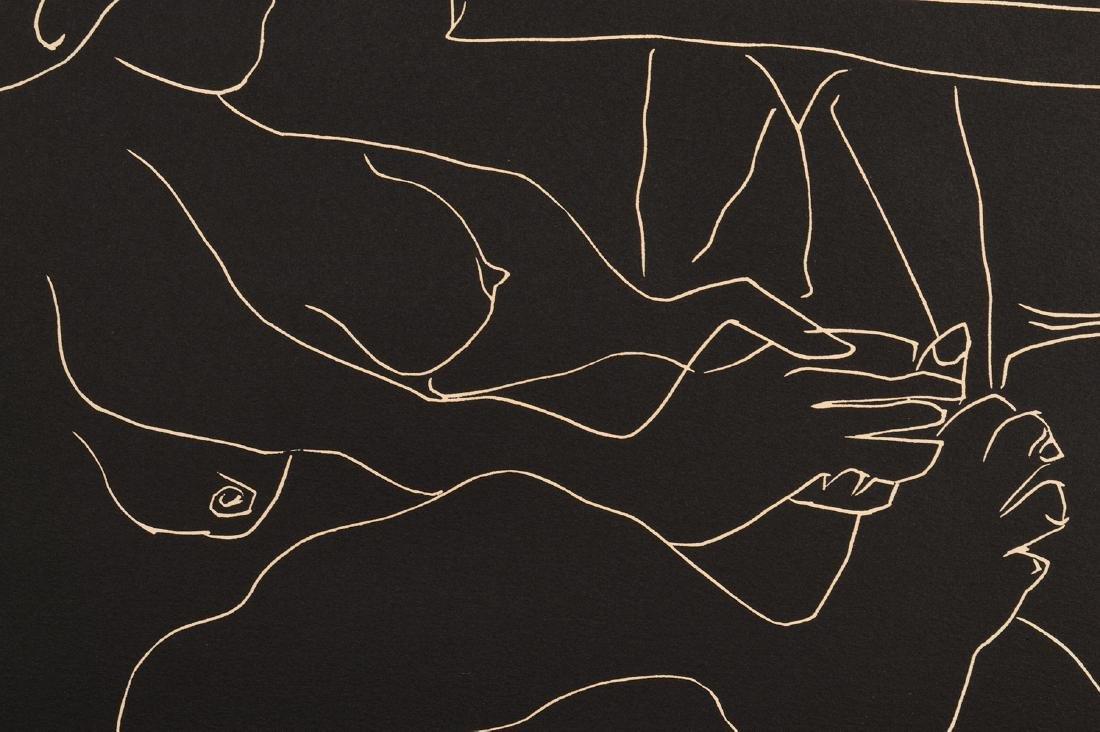 Pablo Picasso Linocut on Arches Paper - 9
