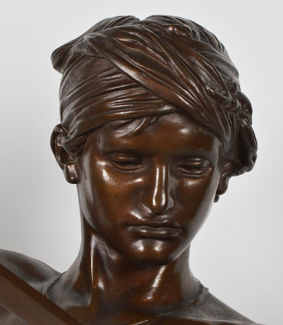 Antonin Mercie Bronze 'David Slayer of Goliath - 4