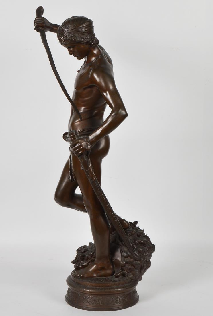 Antonin Mercie Bronze 'David Slayer of Goliath - 5