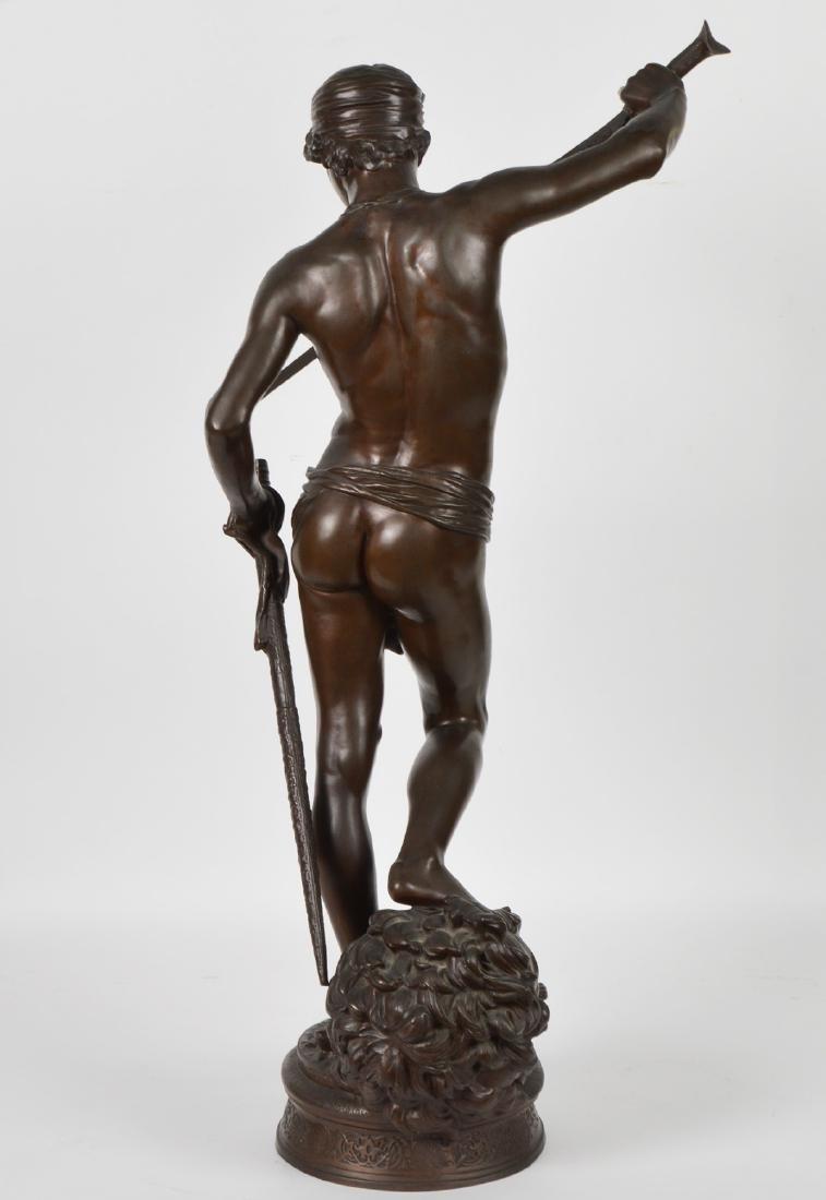 Antonin Mercie Bronze 'David Slayer of Goliath - 8