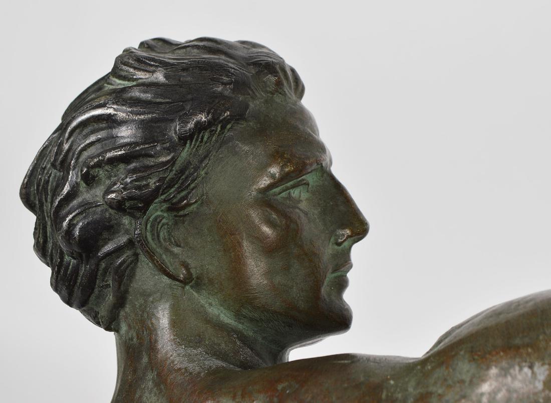 Jean de Roncourt 'Le Bendeur' Metal Sculpture - 10