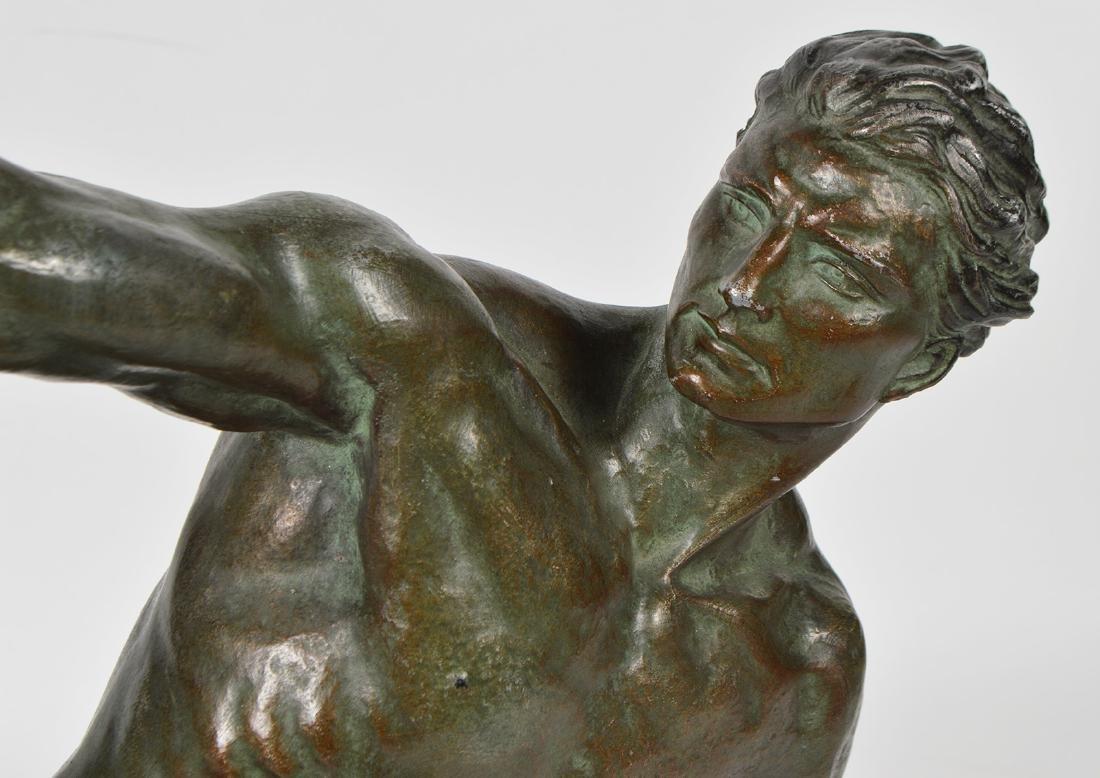 Jean de Roncourt 'Le Bendeur' Metal Sculpture - 3