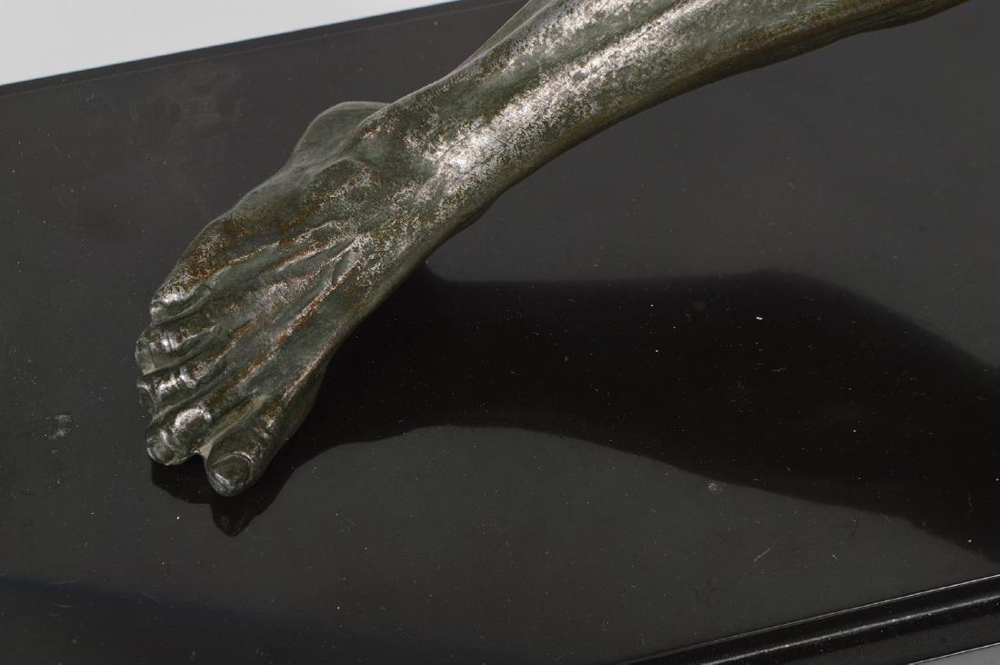 Jean de Roncourt 'Le Bendeur' Metal Sculpture - 4