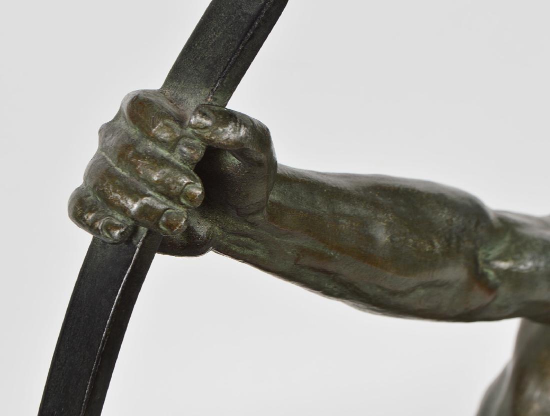 Jean de Roncourt 'Le Bendeur' Metal Sculpture - 5