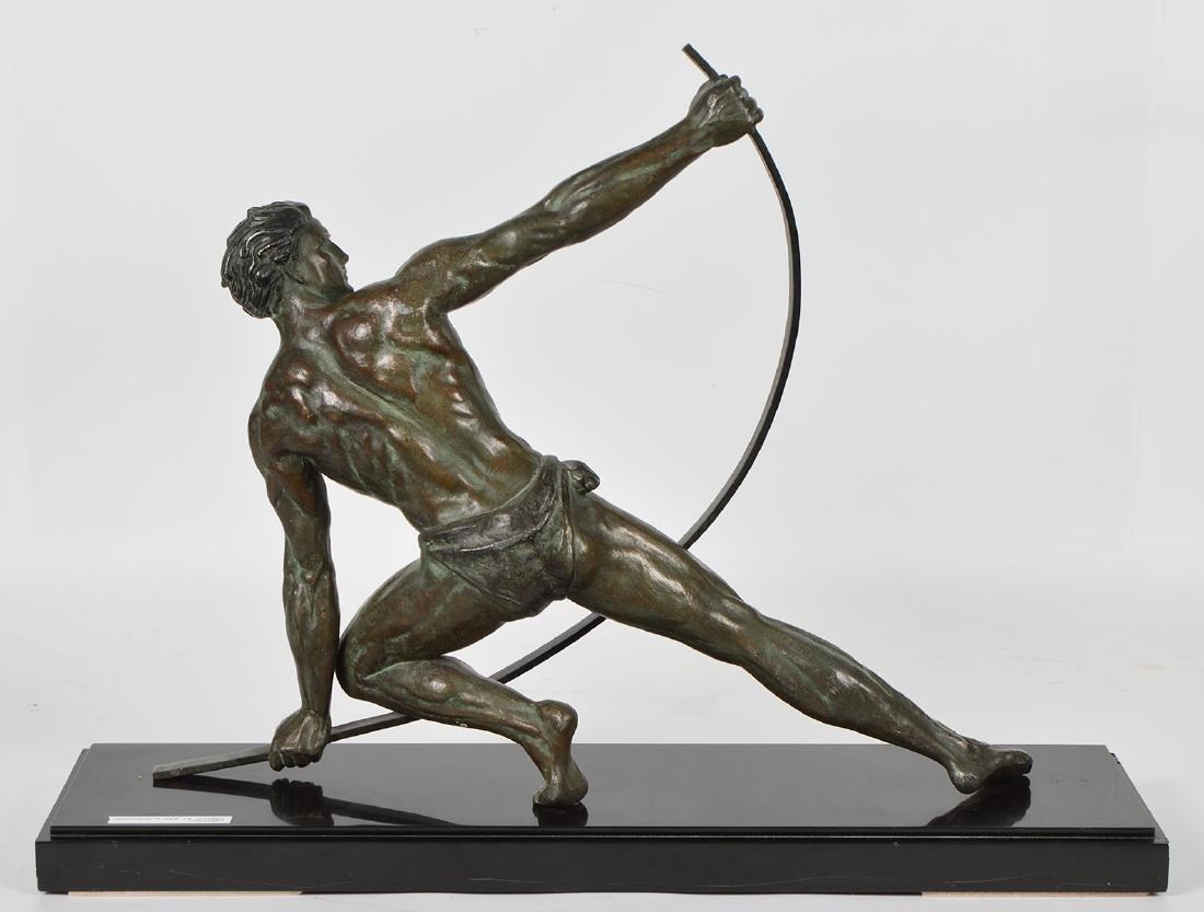 Jean de Roncourt 'Le Bendeur' Metal Sculpture - 6