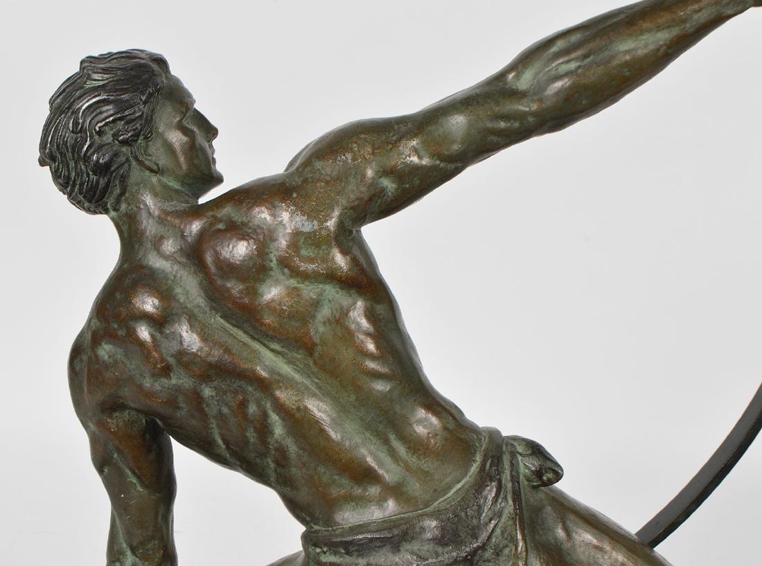 Jean de Roncourt 'Le Bendeur' Metal Sculpture - 7