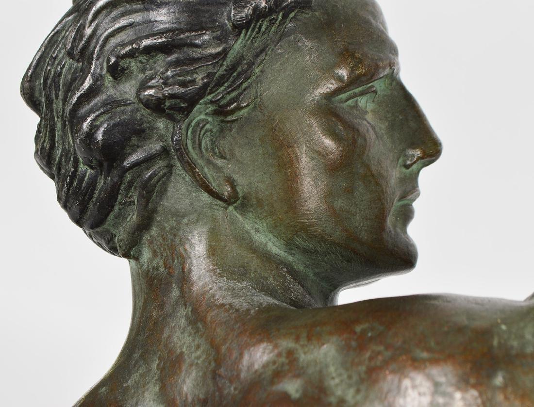 Jean de Roncourt 'Le Bendeur' Metal Sculpture - 9