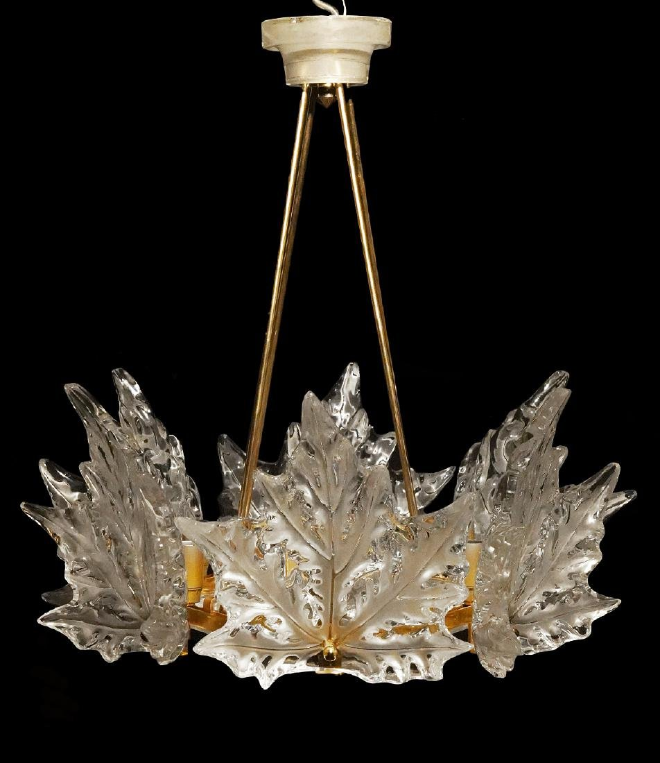 Lalique Champs-Elysees Marc Lalique Chandelier