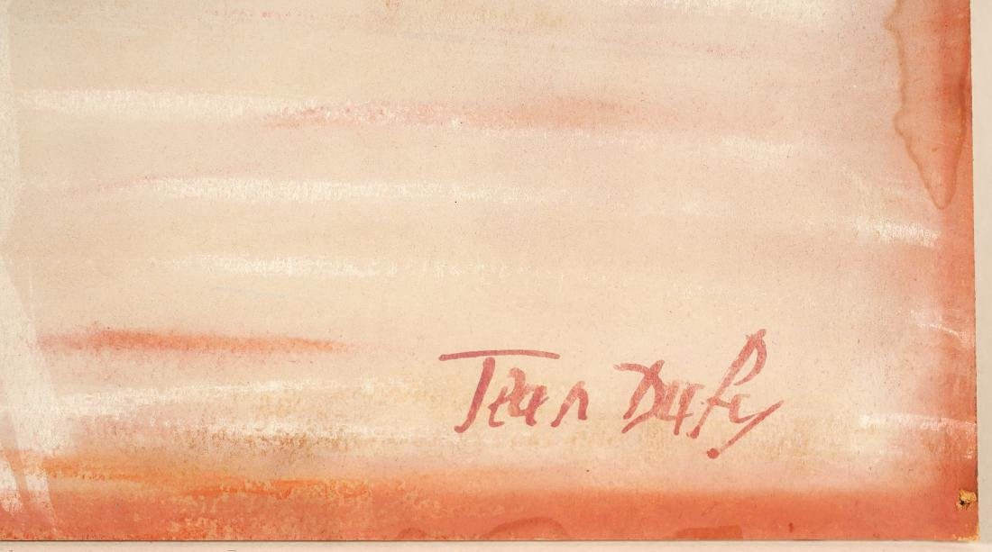 Jean Dufy 'L Ochestre' Gouache on Paper - 6