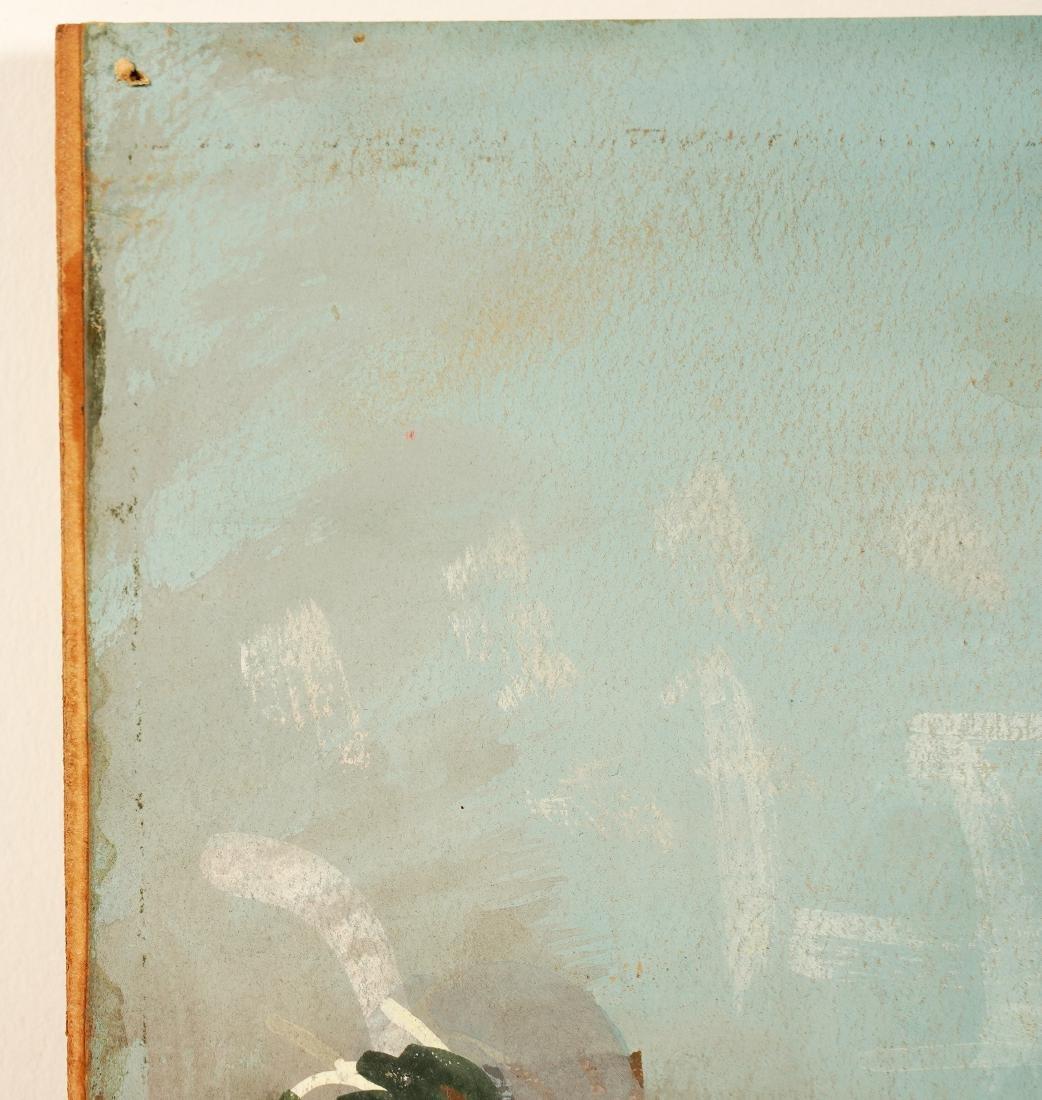 Jean Dufy 'L Ochestre' Gouache on Paper - 9