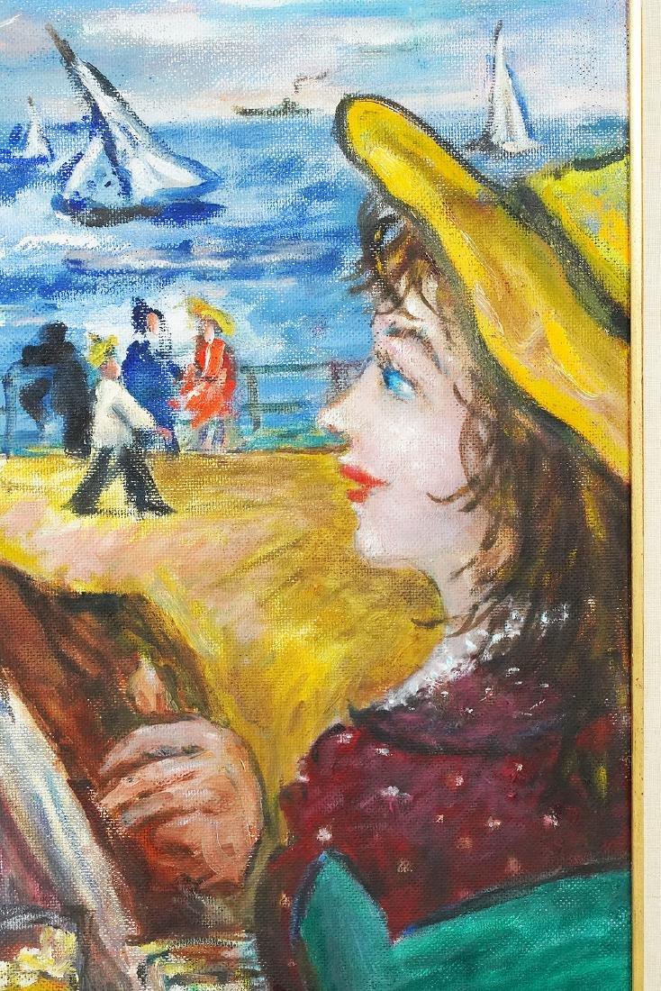 Robert Philipp 'In Love Again' Oil Painting - 4