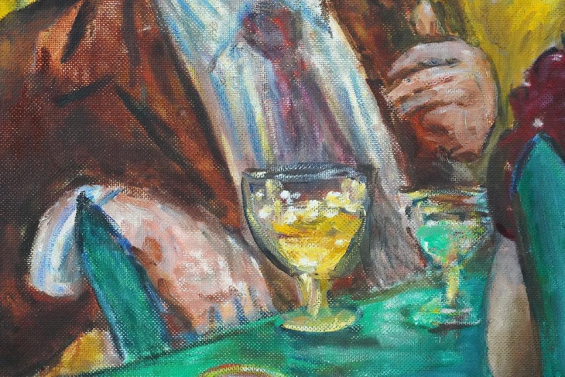 Robert Philipp 'In Love Again' Oil Painting - 9