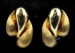 Henry Dunay Earrings 18kt Yellow Gold