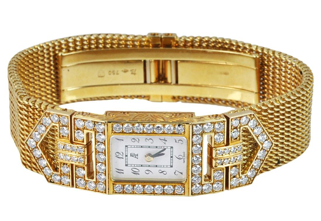 Ladies Audemar Piguet Gold and Diamond Watch