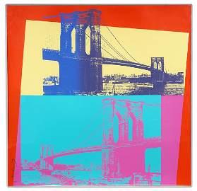 Andy Warhol 'Brooklyn Bridge' Screenprint