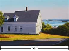 James Wolford 'Isle Au Haut From Stonington' O/C