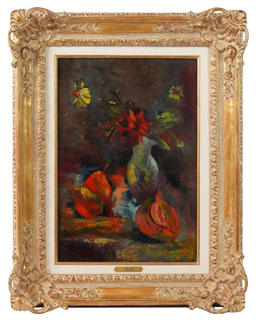 Jean Dufy 'Nature Morte' O/C Painting