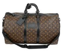 Louis Vuitton Bandouliere 55 Macassar Weekender