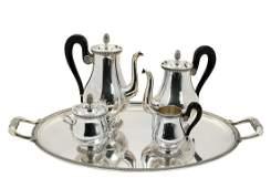 Christofle Silver-plate Malmaison Coffee Set