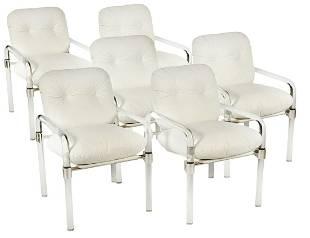 6 Jeff Messerschmidt 'Pipe Line Series II' Chairs
