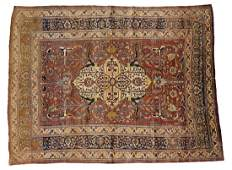 Haji Jalili Tabriz Persian Silk Carpet