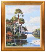 James Hutchinson 'St. Lucie River' O/C Painting