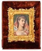 Stanley Middleton Portrait of a Young Woman OB