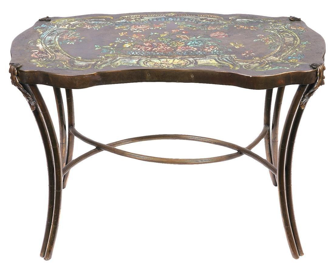 Philip & Kelvin LaVerne 'Pompadour' Side Table