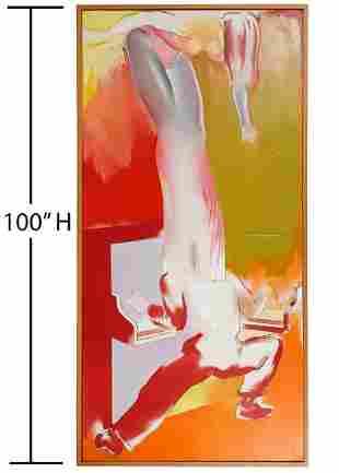 Allen Jones Original Oil Painting Art of Allusion