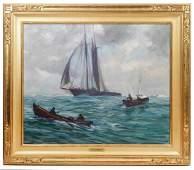 Emile Albert Gruppe Fishing the Grand Banks OC