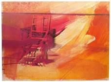 Andy Warhol 'Electric Chair' Screenprint