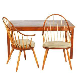 Thomas Moser Dining Table and Chairs
