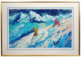Leroy Neiman 'Downers 1970' Serigraph