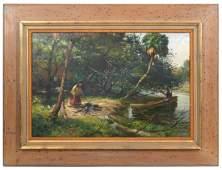 James F. Hutchinson Oil on Canvas