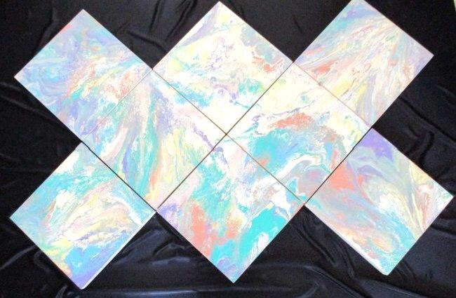 Richard Mann / 8 Piece Abstract Installation