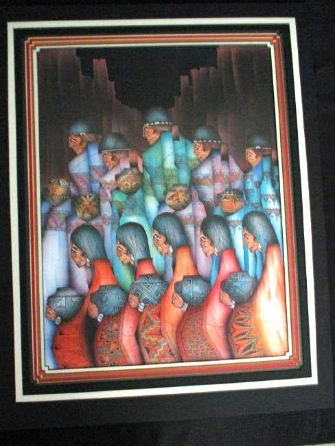 Amado Pena Jr. / Signed Rare Poster