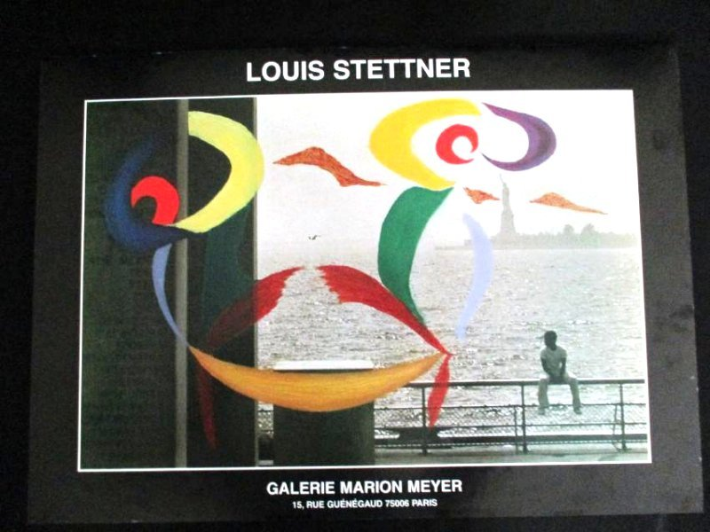 Louis Stettner / Rare Contemporary Poster