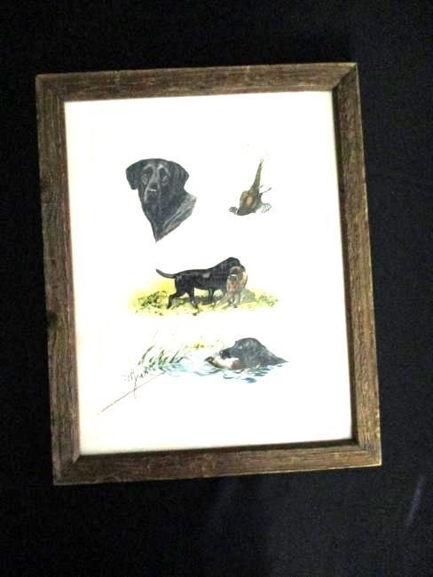 Boris Riab / Hand Signed Colored Etching