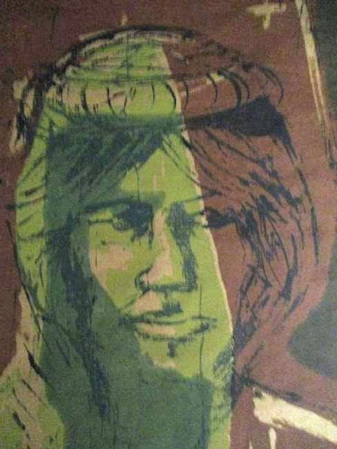 Mary Hershberger / 1960's Woodcut - 2