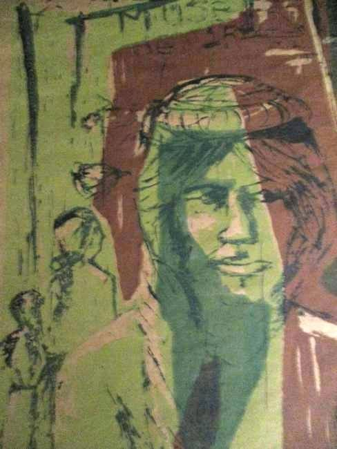 Mary Hershberger / 1960's Woodcut - 4