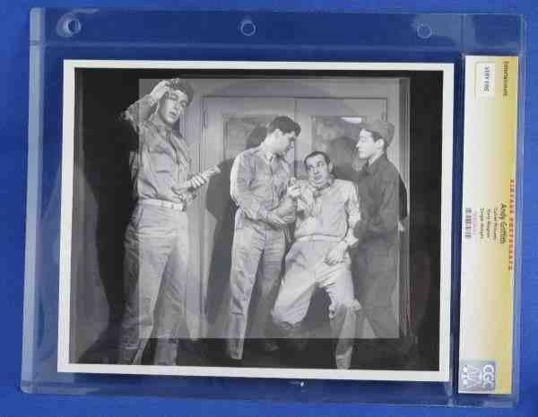 1011: CGC Photo Andy Griffith 1958 Culver Pictures