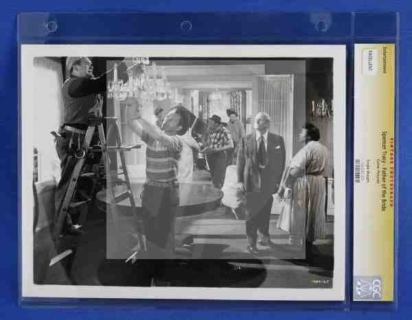 1017: CGC Photo Spencer Tracy Father of the Bride 1950