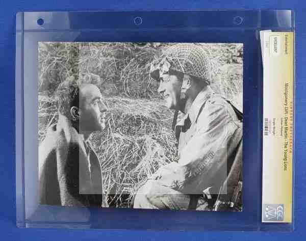 1022: CGC Photo Dean Martin The Young Lions 1958