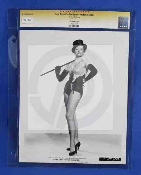 1184: CGC Photo Jane Russell Gentlemen Prefer Blondes