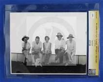 1287: CGC Photo Mr. & Mrs. Will Rogers Jim Rogers