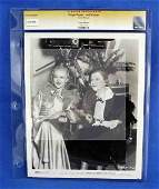 1431: CGC Photo Ginger Rogers and her Mother 1937