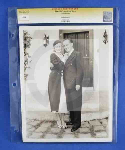 1441: CGC Photo Jean Harlow Paul Bern 1932
