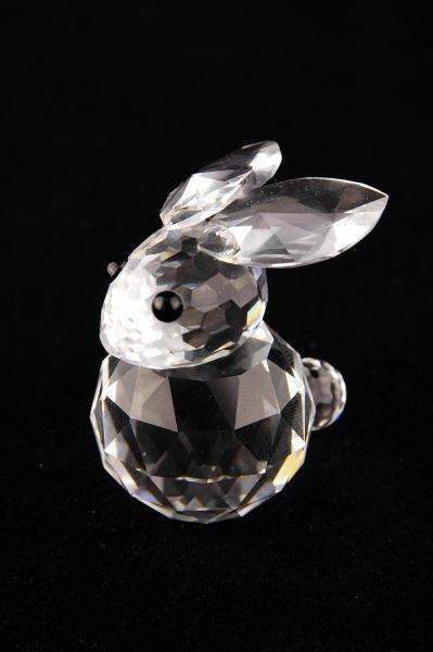 5B: Swarovski Crystal Large Rabbit