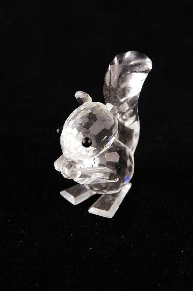 10: Swarovski Crystal Squirrel with Small Ears
